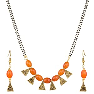 Aadita Latest Fashion Traditional Stylish Design Gold Plated and American Diamond Mangalsutra for Women  Golden   DT1575MS  AllTrickz.jpg