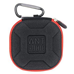 Ant Audio Porte Earphones Carry case for Earphones   Red AllTrickz.jpg