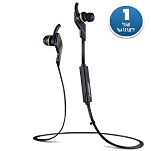 Ausdom Jogto Stereo Sound Bluetooth Headset   Green AllTrickz.jpg