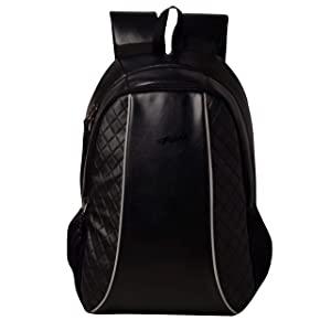 F Gear Carlton V2 Leather 27 Liters Laptop Backpack SCH Bag Black  AllTrickz.jpg