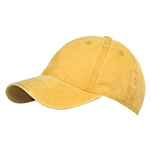 FabSeasons Washed Cotton Denim Unisex Free Size Baseball Summer Cap AllTrickz.jpg