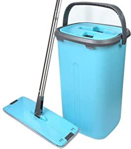 INTERSHOP Bucket MOP with 2 Refills and 1 Liquid Dispenser Flat MOP with 2 Refills and 1 Liquid Dispenser Multi  AllTrickz.jpg