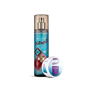 Layerr Wottagirl Pure Paradise Body Splash 135ml   Get Moisturizing Cream For All Skin Types 25g AllTrickz.jpg