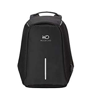 MODA DIO Vogue BPK12 Waterproof Anti Theft Laptop Backpack with Charging Port Black  AllTrickz.jpg