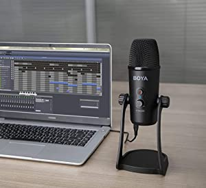 Renewed  Boya BY PM700 USB Computer Microphone for Vlog Conference Live AllTrickz.jpg