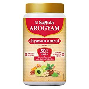 Saffola Arogyam Chyawanamrut includes Chyawanprash AllTrickz.jpg