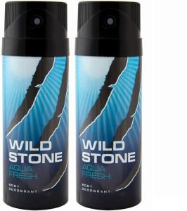 Wild Stone AQUA FRESH   PACK OF 2  Deodorant Spray   For Men 150 ml AllTrickz.jpg