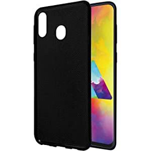 Amazon Brand   Solimo Mobile Cover  Soft   Flexible Back case  for Samsung Galaxy M20  Black  AllTrickz.jpg