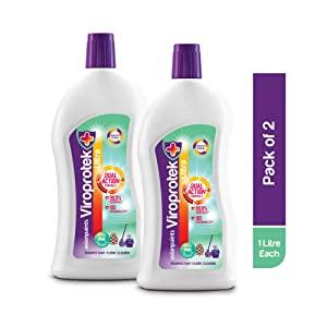 Asian Paints Viroprotek Ultra Disinfectant Floor Cleaner Pine   1 L each  Pack of 2  AllTrickz.jpg