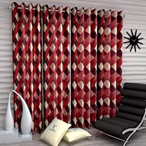 Fashion String 4 Pieces Window Curtain Set AllTrickz.jpg