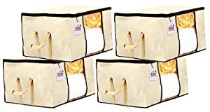 Fun Homes 4 Pieces Non Woven Fabric Underbed Storage Bag AllTrickz.jpg