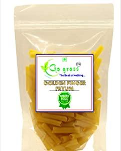 GO GRASS Golden Finger Fryums   Ready to Fry papad Snacks   400g AllTrickz.jpg