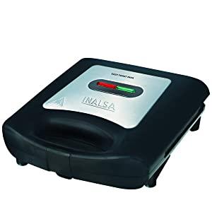 Inalsa Easy Toast INOX 750 Watt 2 Slice Sandwich Maker  Black AllTrickz.jpg