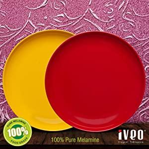 Iveo 100% Melamine Dinner Plate 10 AllTrickz.jpg