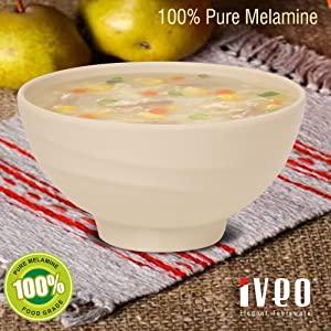 Iveo 100% Melamine Soup Bowl 4.5 AllTrickz.jpg