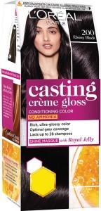 LOréal Paris Casting Crme Gloss Hair Colour Mini 200 Ebony Black  Rs 30 Off   AllTrickz.jpg
