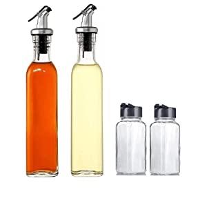 MISAMO ENTERPRISE 500 ml Oil Dispenser and Glass 120 ML Square Spice Jar AllTrickz.jpg