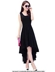 Pop Mantra Georgette a line Dress AllTrickz.jpg
