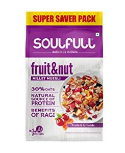 Soulfull Millet Muesli Fruit   Nut with Almonds   Real Fruits AllTrickz.jpg