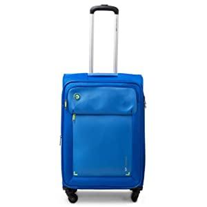 VIP Lido Polyester 54 cms Blue Softsided Cabin Luggage with Anti theft Zipper AllTrickz.jpg