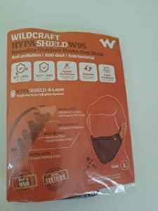 Wildcraft Hypashield Fabric Reuseable Mask  Black AllTrickz.jpg