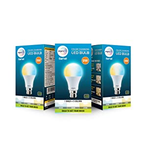 Wipro Garnet 9 W Color Changing LED Bulb  Pack of 3  AllTrickz.jpg