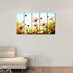 999Store office decoration items small frames for wall decor Sea Side wall art panels hanging painting Set of 5 frames  130 X 76 Cm  AllTrickz.jpg