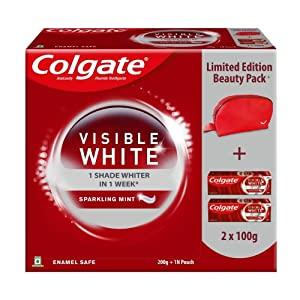 Colgate Visible Whitening White Beauty Combo  2N X 100 gram Toothpaste AllTrickz.jpg
