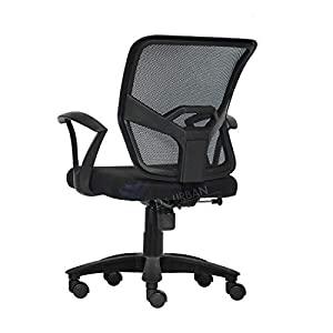 Da URBAN® GRACO Medium Back Revolving Office Chair  Black   1Pc  AllTrickz.jpg