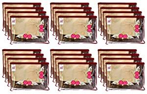 Fun Homes Non Woven 24 Pieces Single Packing Saree Cover Set  Maroon  AllTrickz.jpg