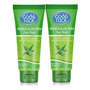 Good Luck Neem   Aloe Vera Face Wash  Pack of 2  AllTrickz.jpg