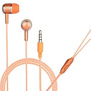 Hitage Earphones HP 315 HD Sound Deep Extra Bass Wired Earphone with Mic  Orange  AllTrickz.jpg
