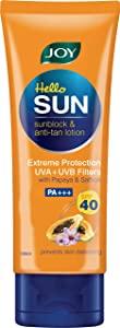 Joy Hello Sun Sunblock   Anti Tan Lotion Sunscreen SPF 40 PA    AllTrickz.jpg