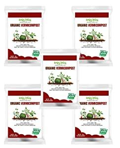 Leafy Tales Organic Vermicompost Fertilizer Manure for Plants   5 KG AllTrickz.jpg