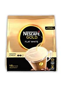 Nescafe Gold Flat White Smooth   Silky 15 Sticks Premix Coffee AllTrickz.jpg