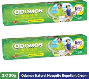 Odomos Naturals Non Sticky Mosquito Repellant Cream 2 x 100 g  AllTrickz.jpg