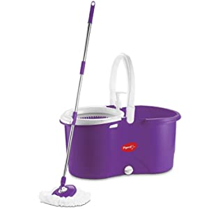Pigeon Enjoy Spin Mop with 360 Degree Rotating PVC Magic Mop Set for Wet and Dry Floor AllTrickz.jpg