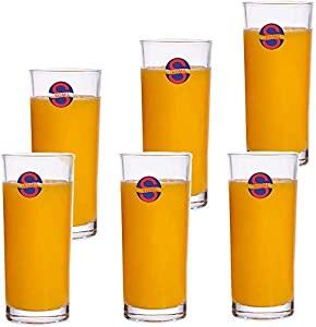 Somil Transparent Multi Purpose Glass Clear Beverage Tumbler Set of 6 T248 AllTrickz.jpg