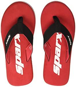 Sparx Mens Red Flip Flops and House Slippers   8 UK AllTrickz.jpg