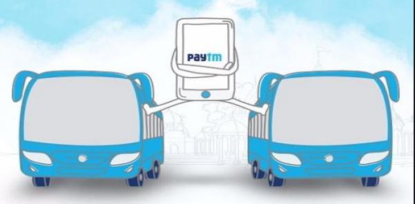 paytm bus