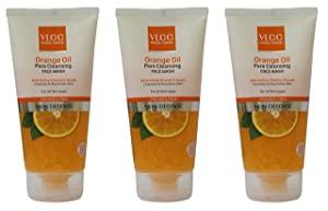 VLCC Orange Oil Pore Cleansing Face Wash Trio Pack  150g AllTrickz.jpg