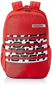 American Tourister Bounce 28 Ltrs Red Casual Backpack  FR9  0  00 003  AllTrickz.jpg