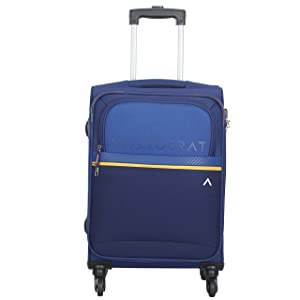 Aristocrat Polyester 58 cms Blue Softsided Cabin Luggage  Brezza  AllTrickz.jpg