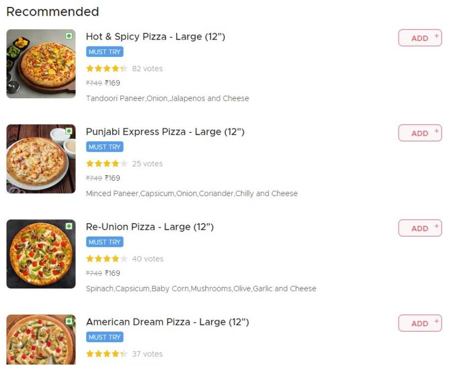 cap sam pizza