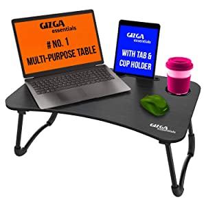 Gizga Essentials Multi Purpose Portable   Foldable Wooden Desk for Bed Tray AllTrickz.jpg