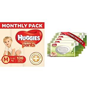 Huggies Ultra Soft Pants Diapers Monthly Pack AllTrickz.jpg