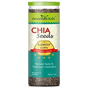 Nourishvitals Superior Quality Roasted Chia Seeds   200 G AllTrickz.jpg