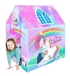 Webby Unicorn Kids Play Tent House for Girls and Boys Toy Home AllTrickz.jpg