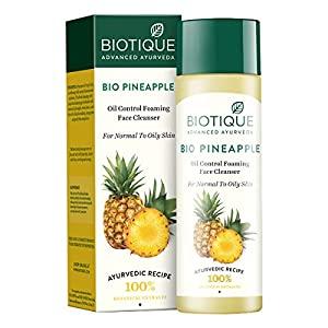 Biotique Bio Pineapple Oil Control Foaming Face Cleanser Normal to Oily Skin  120 ml  AllTrickz.jpg