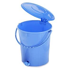 Kuber Industries Plastic Dustbin Garbage Bin with Handle AllTrickz.jpg